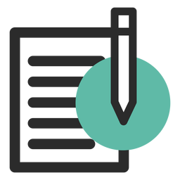 Notepad vector png. Download paper and pencil