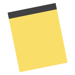 Vector notes sticker paper. App icon minimalism iconset