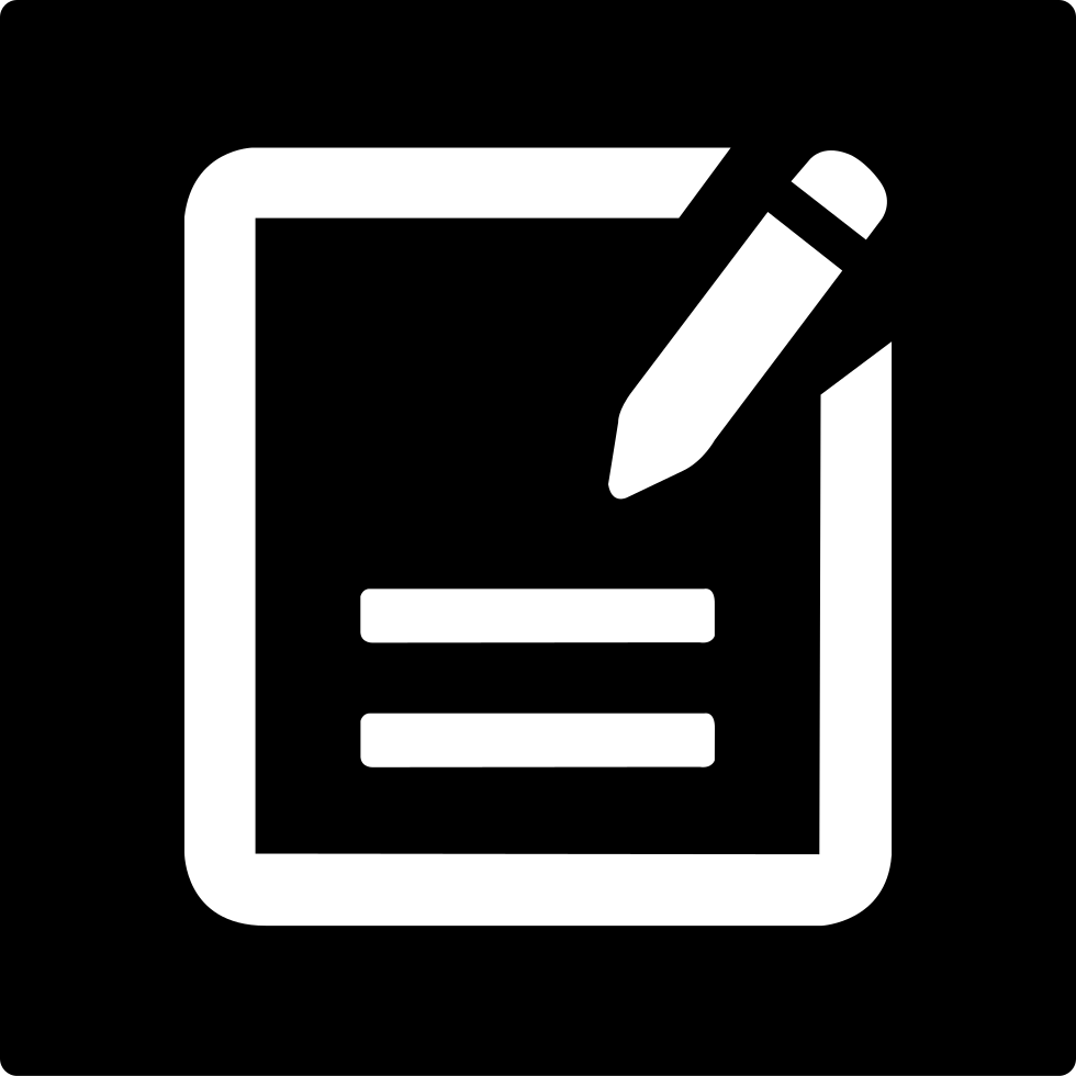Notes page png. Super icon svg free