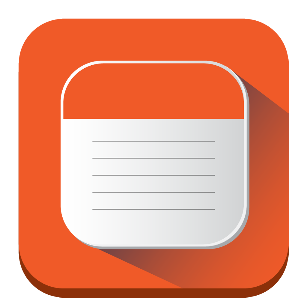 iphone notes icon png