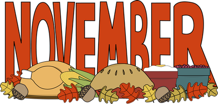 November clipart november themed. Harding san juan lodge