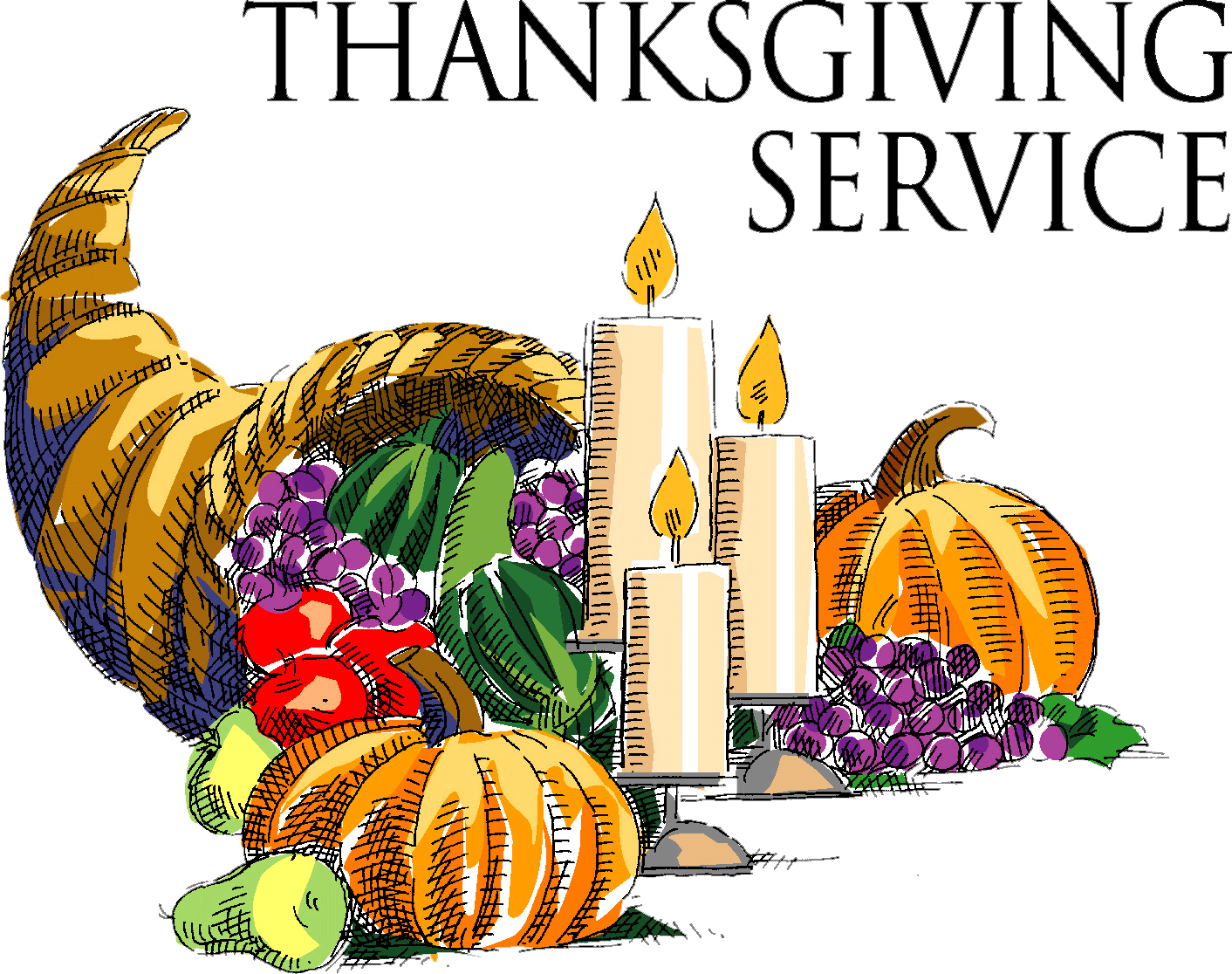 November clipart service. Church times