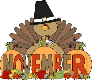 November clipart service. News discovery isle
