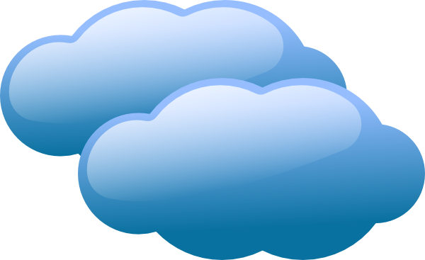 Nubes vector clouds. Free cartoon images of