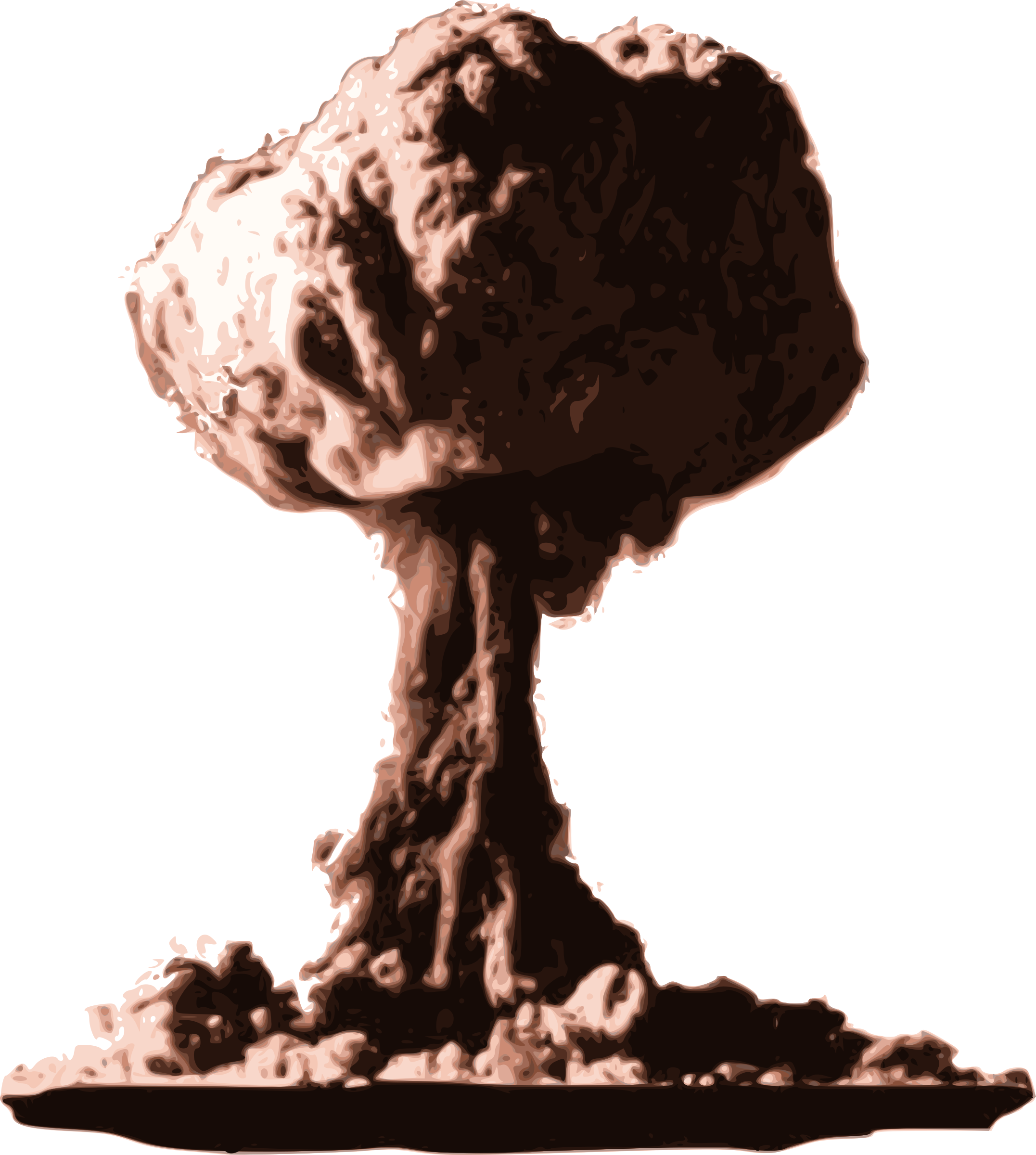 Nuclear bomb blast png. Explosion images transparent free