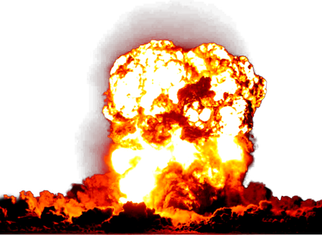 Bomb explosion png. Nuclear weapon display resolution