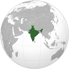 Nuclear drawing nuke. India and weapons of