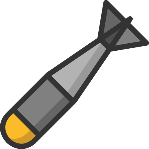 Nuclear missile png. Clipart transparent stickpng