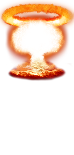 Explosions png. Nuclear explosion transparent images
