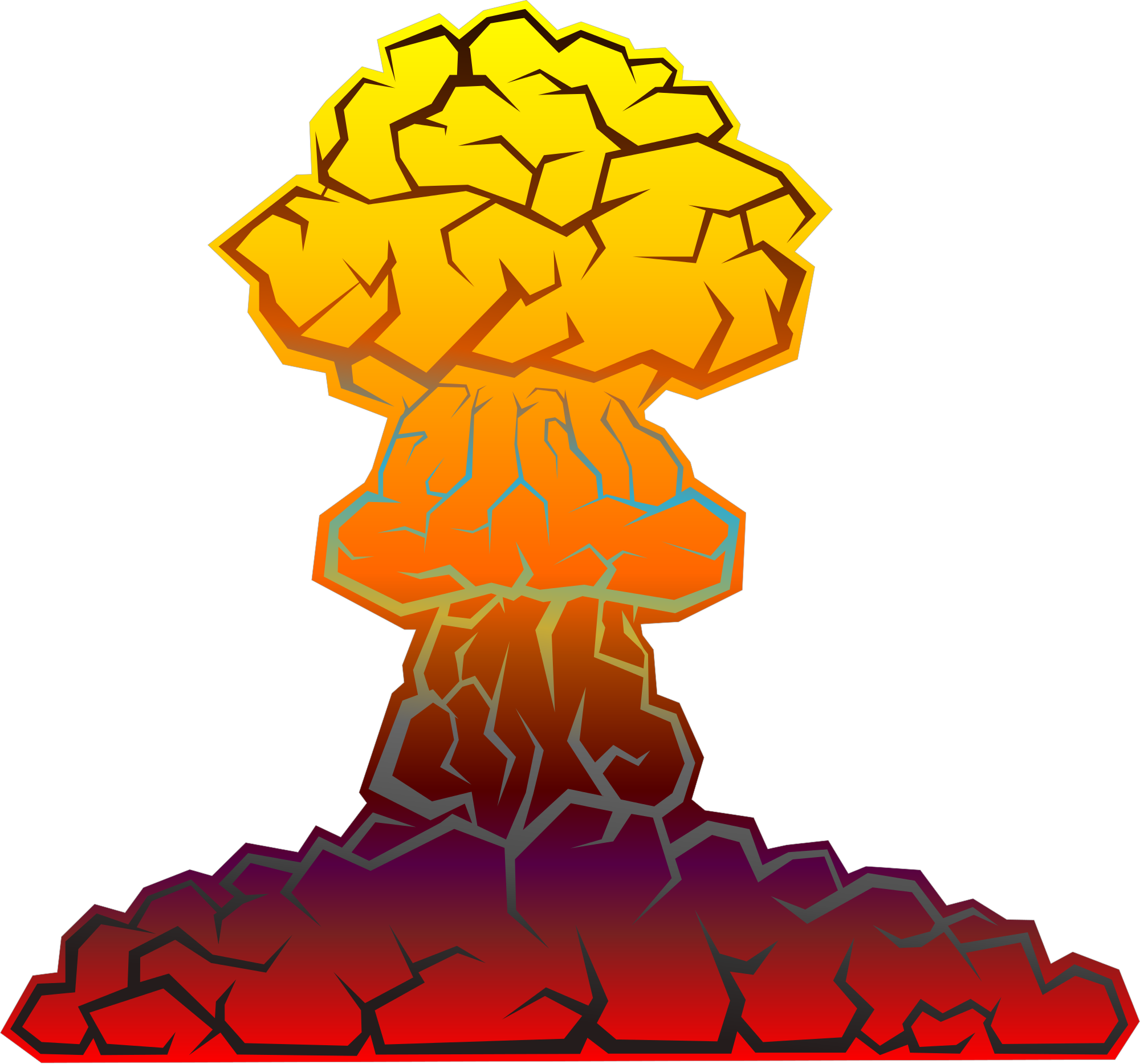 Nuke bomb png. File nuclear explosion svg