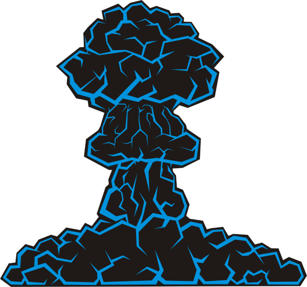Nuke cloud png. Mushroom clip art at