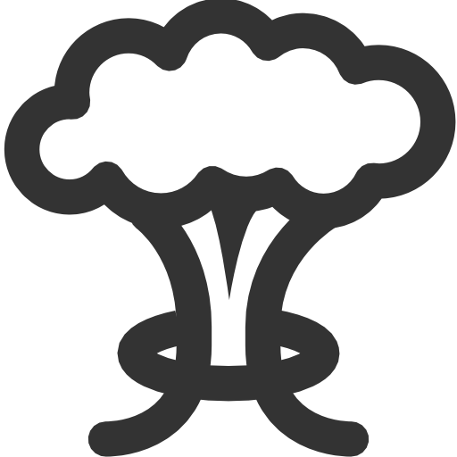 mushrooms vector explosion