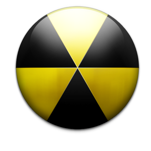 Nuke icon png. Burn nuclear free icons