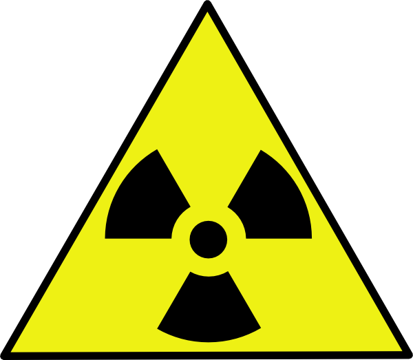 Nuke sign png. Nuclear zone warning clip
