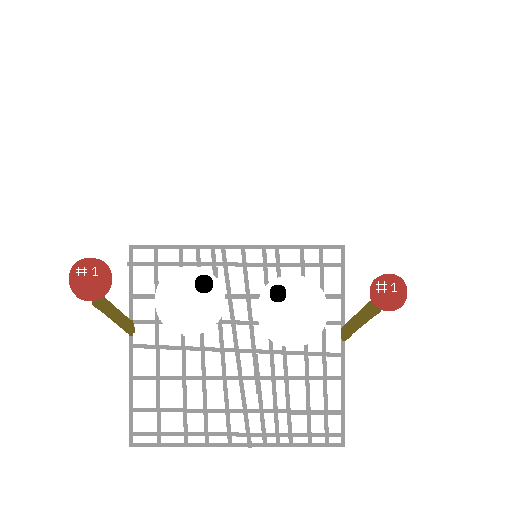 Number 1 crate png. Pixilart no by son