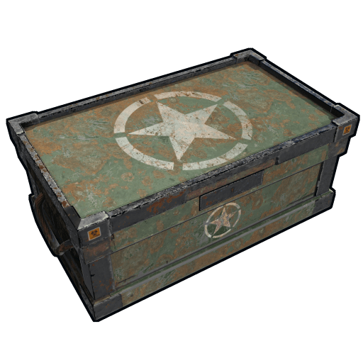 Number 1 crate png. Image military icon rust