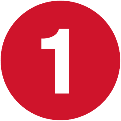 Number 1 png image. Free download
