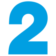 Number 2 3d png. Free image download