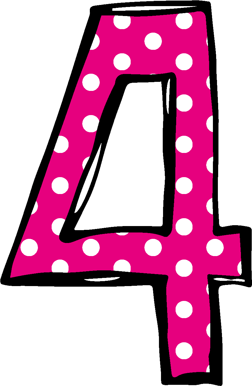 Number 2 birthday png. Download polka dot clipart