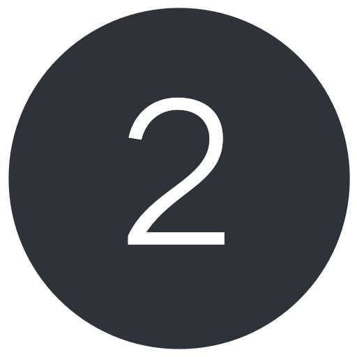 Number 2 icon png. Two icons download free