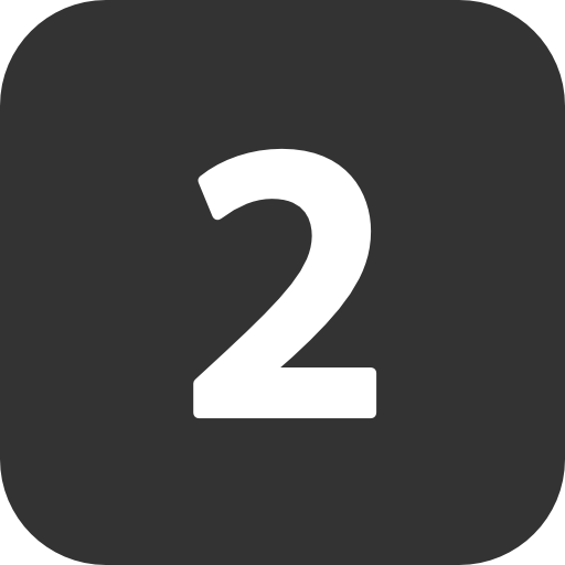 Number 2 icon png. Two free icons and
