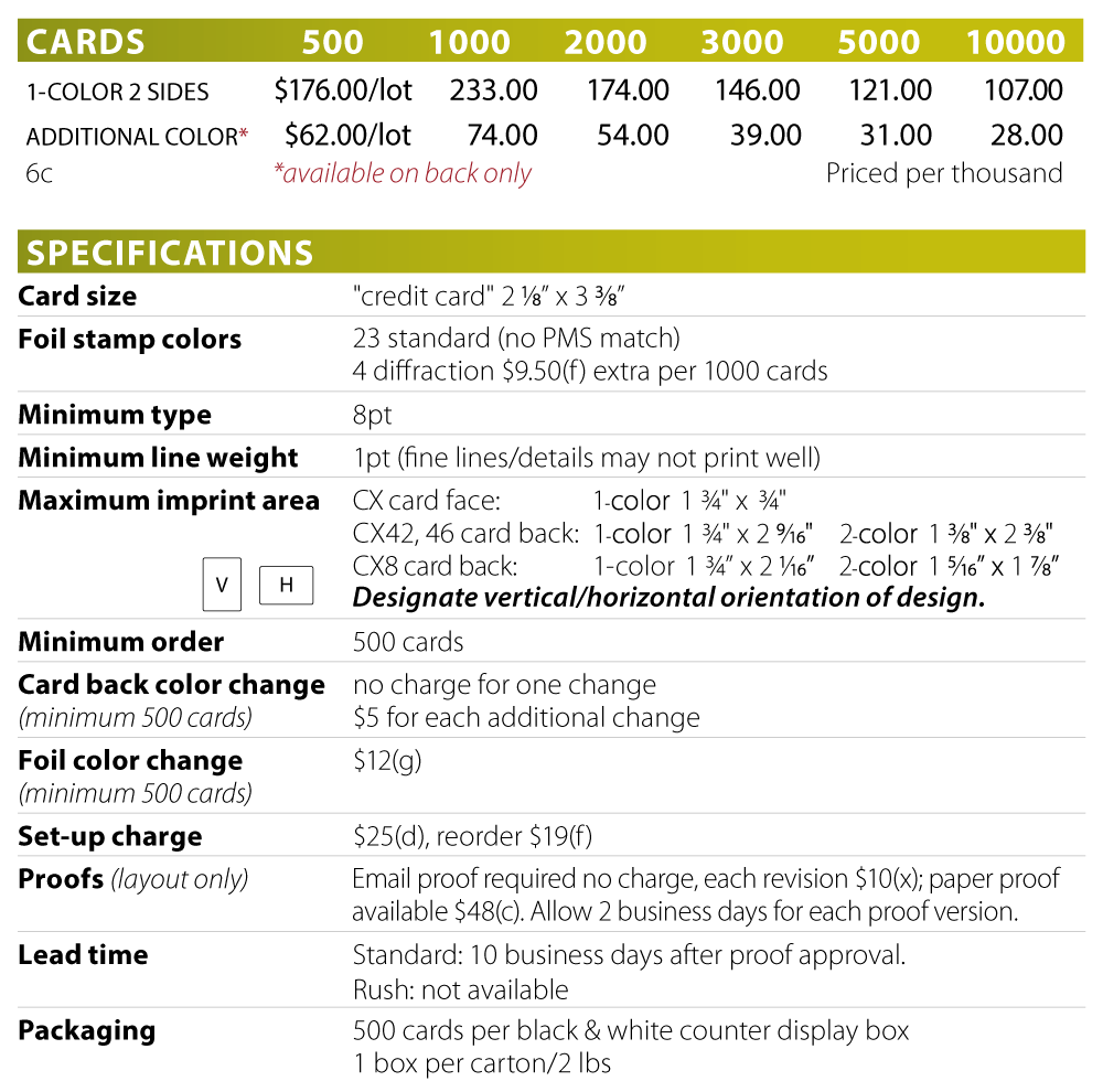 Number 2 to 9 cards png. Gemaco promotional