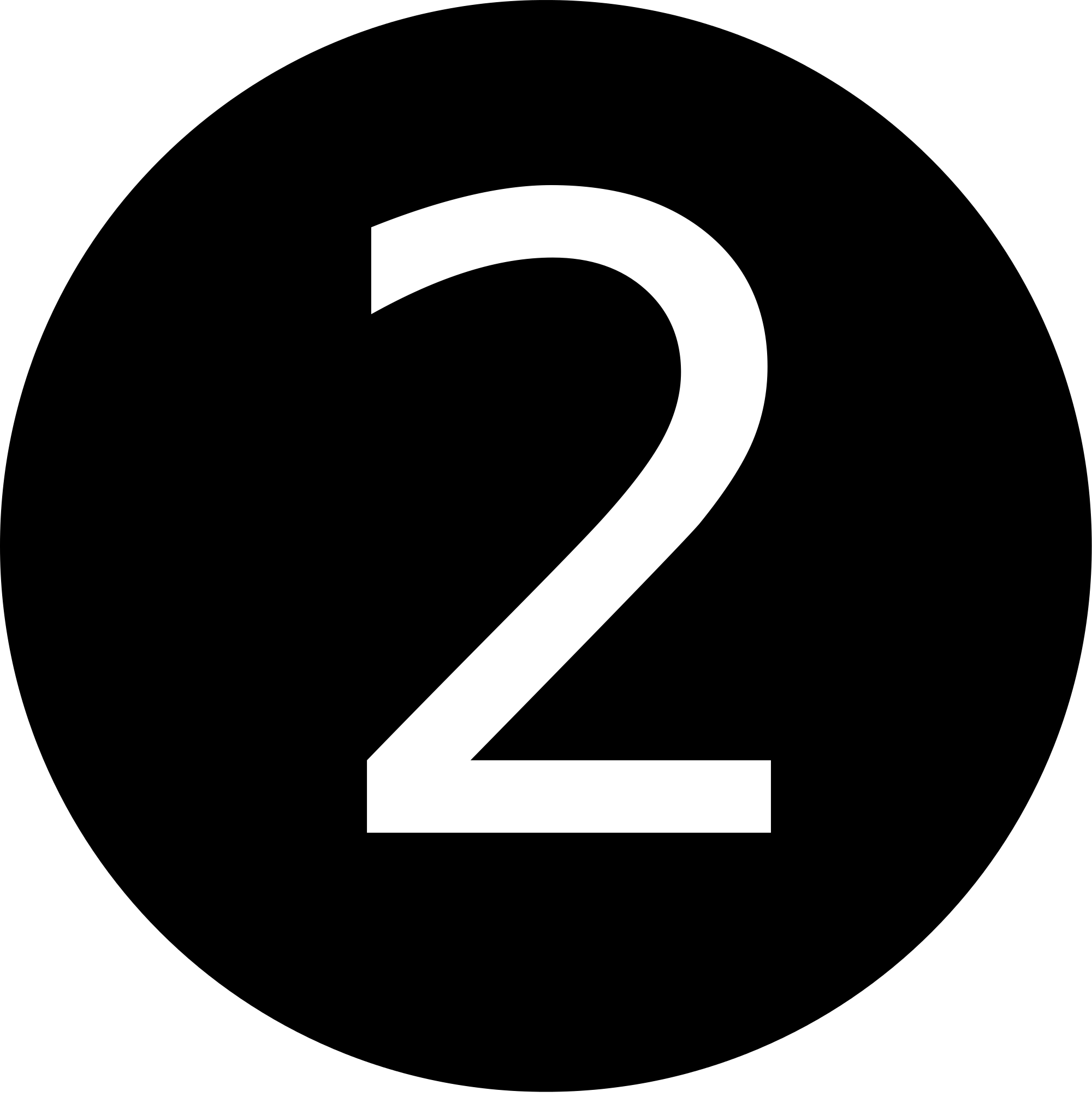 Number 2 white png. File black and svg