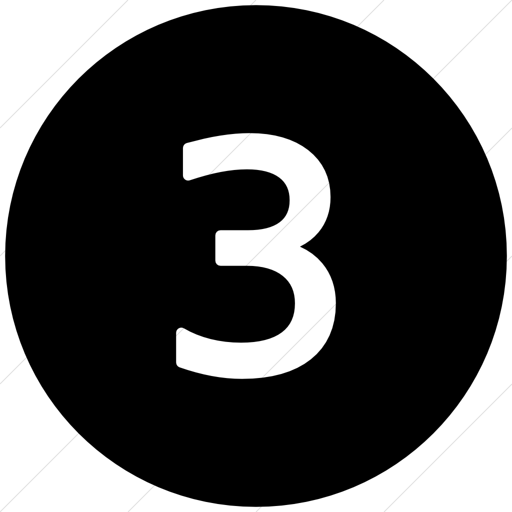 Number 3 icon png. Free image icons and