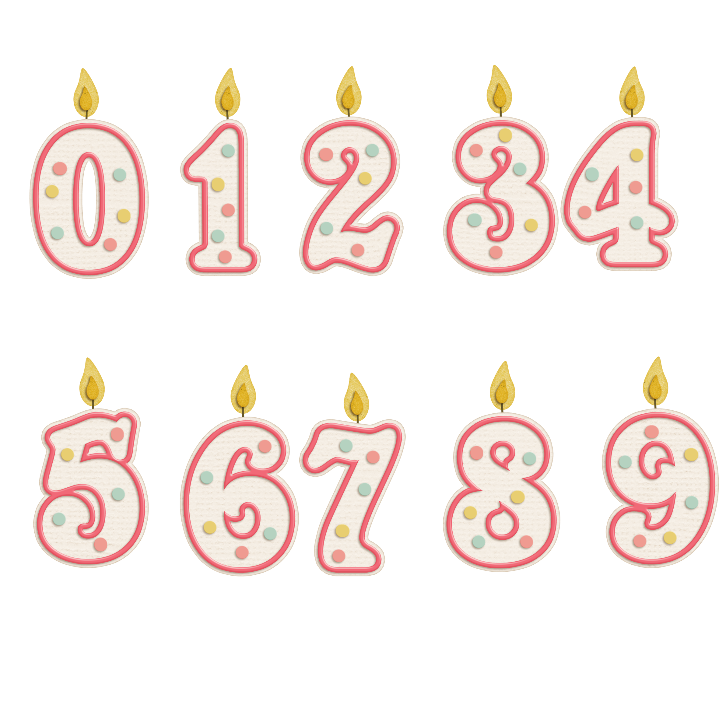 Number candles png. Candle birthday cake transprent