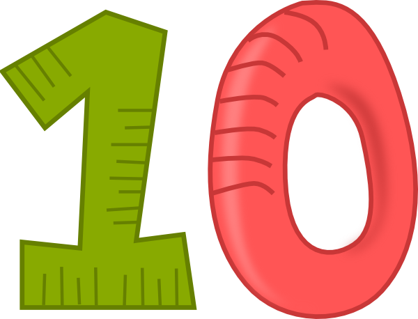 Number clipart. Numbers file transparentpng