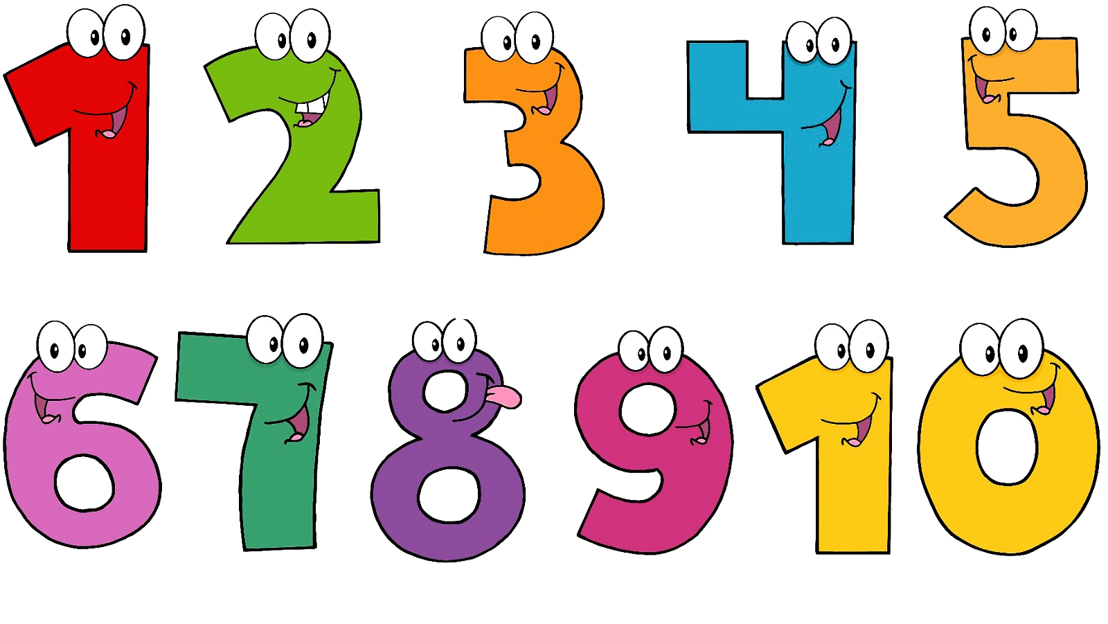 Number clipart animated. To numbers png