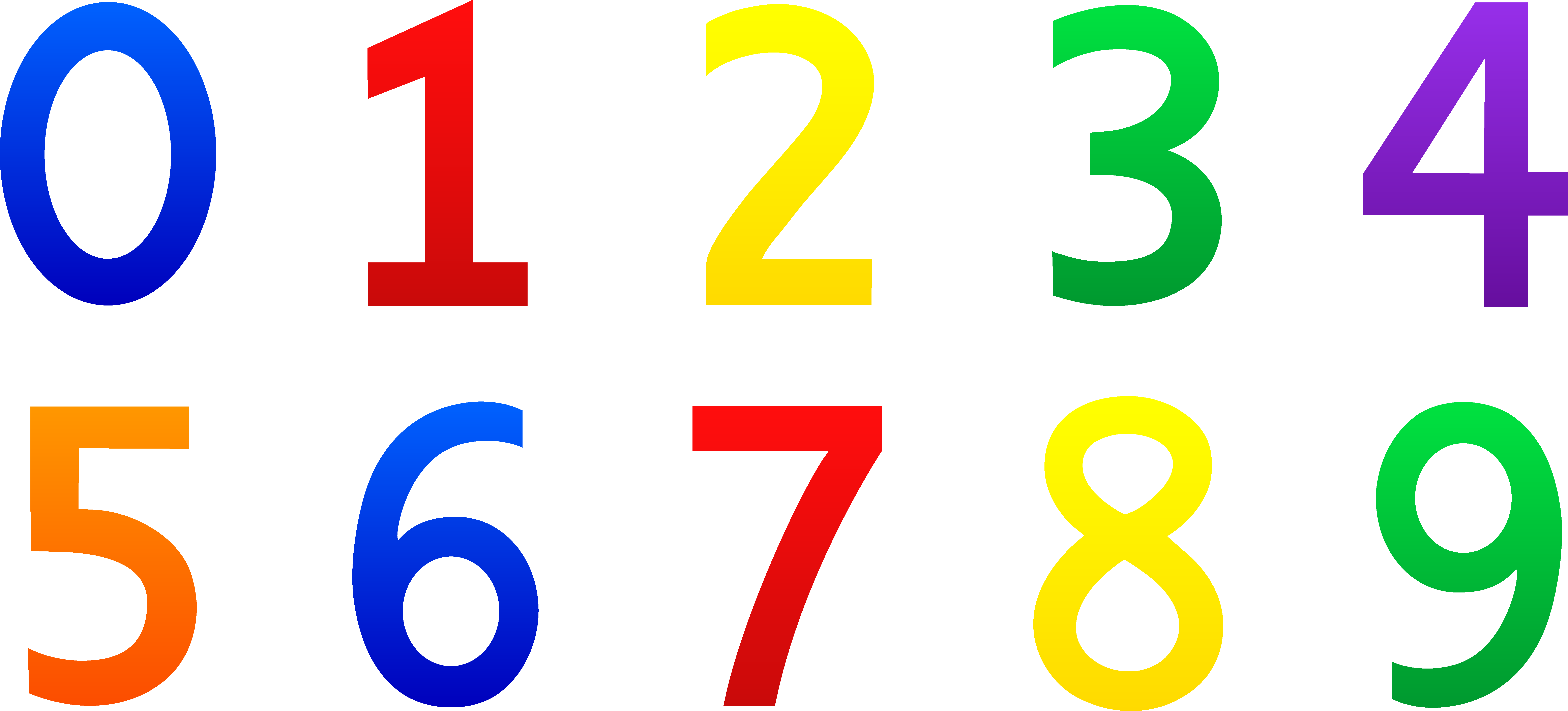 Whole numbers counting definition. Number clipart natural number image black and white library