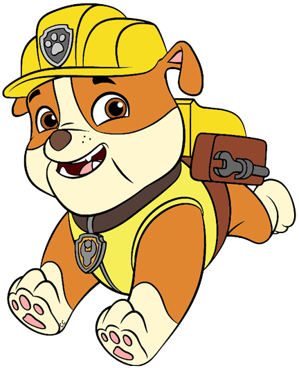 Number clipart paw patrol. Clip art cartoon about