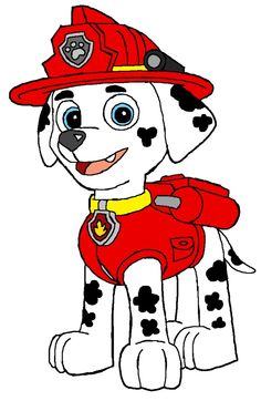 Number clipart paw patrol. Characters fabric t
