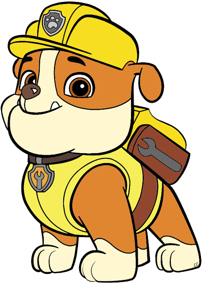 Patrol clipart clip art. Paw cartoon clipped by