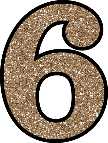 Glitter numbers png. Free to download and