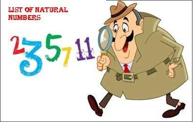 Numbers clipart natural number. List of mathematics pinterest