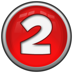 Red numbers png. Clipart