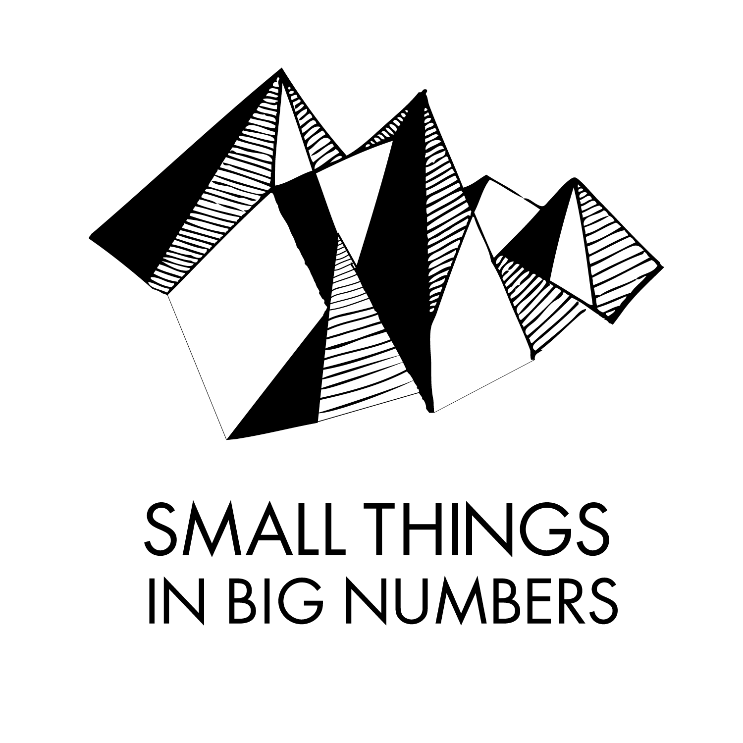 Numbers drawing small. Things in big formatw