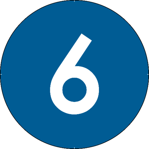 Numbers in circles png. Number circle flashcard free