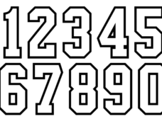 Numbers png. Vector clipart psd peoplepng