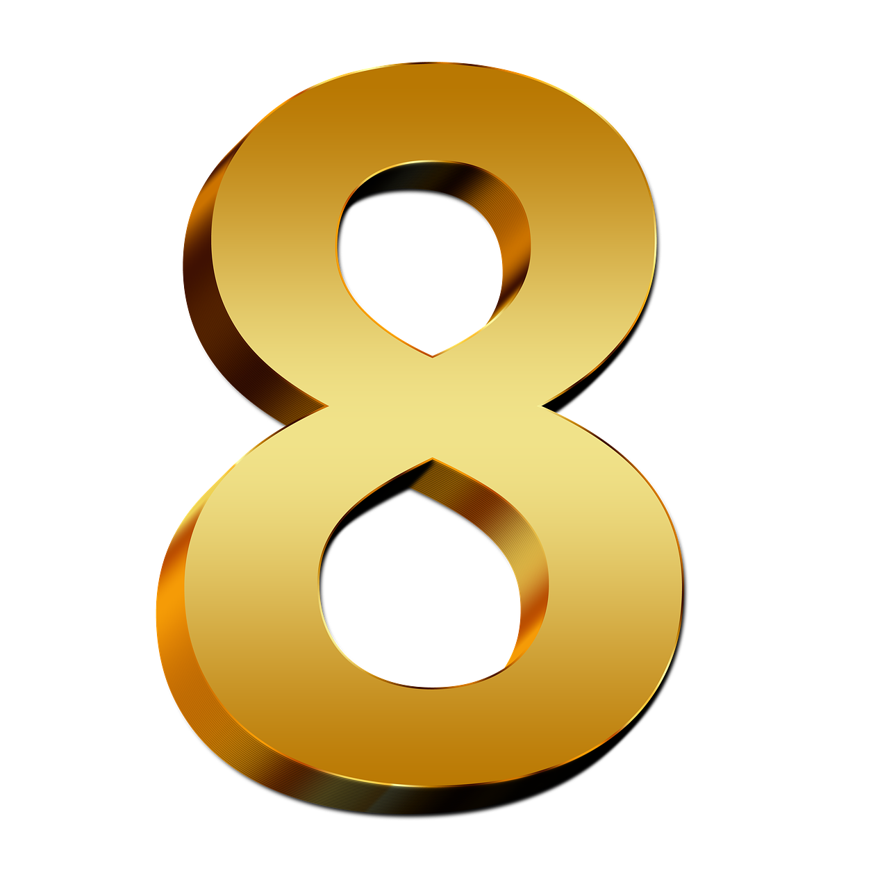 Numbers png images. To transparent all