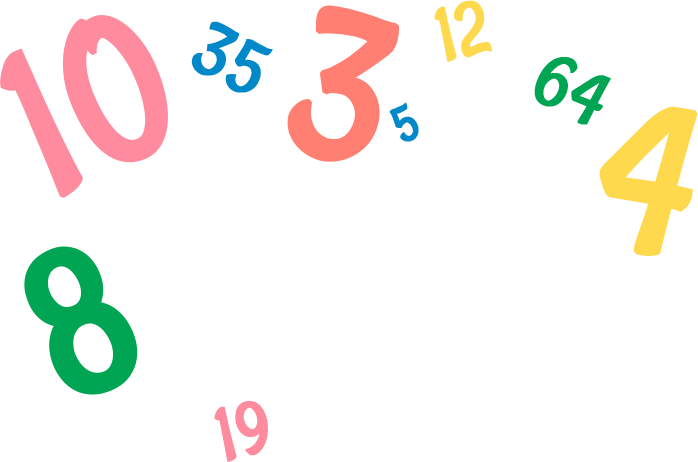 Numbers png. Whitford family centre numberspng