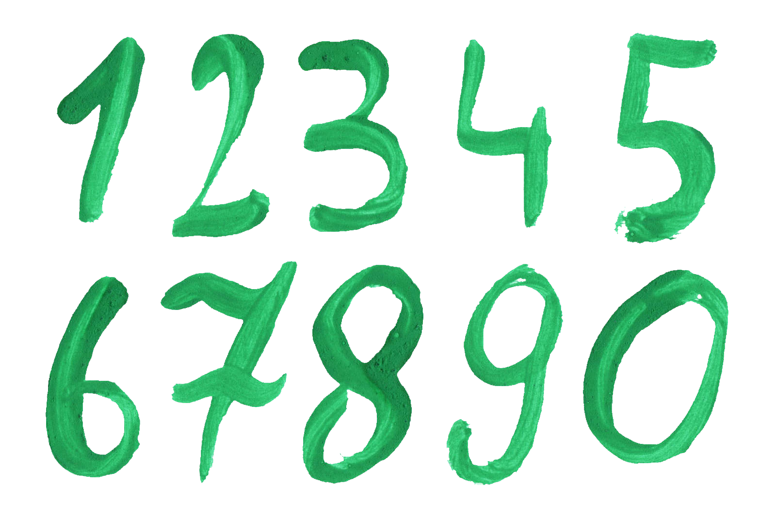 Numbers png. Picture arts