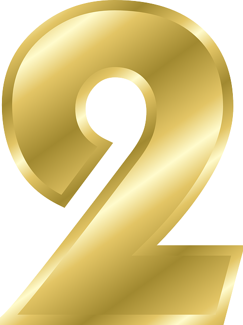 Numero 2 png. Free number transparentpng