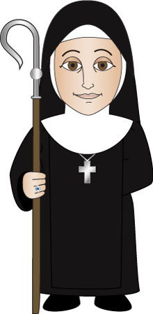 monkas clipart roman catholic priest
