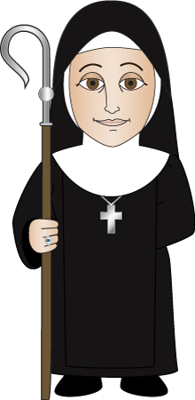 Nun clipart kid. Monks and nuns