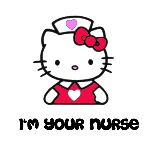 Nurse clipart halloween. Hello kitty