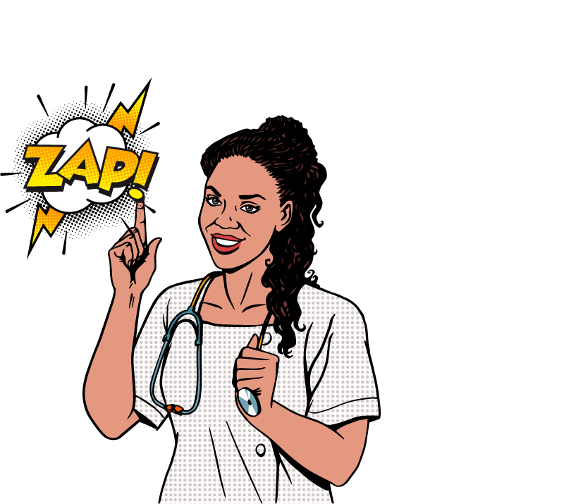 Nurse clipart hero. Healtcare staffing solutions tailored