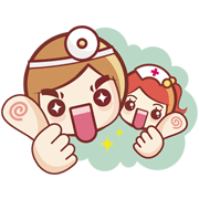 Nurse png cute. And smart doctor line